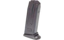 HK 215982S Magazine P2000/USP 9mm Compact 10rd Polymer Black Finish