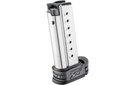 Springfield Armory XDS0908 XD-S Replacement Magazine 9mm 8rd Silver Finish