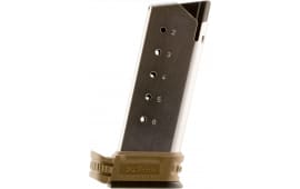 Springfield Armory XDS5006DE XD-S 45 ACP 6rd FDE/Sliver Finish