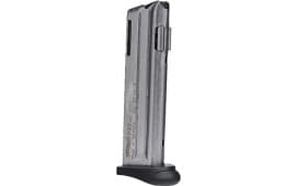 Walther 512604 P22 22 Long Rifle 10rd Finger Rest Stainless