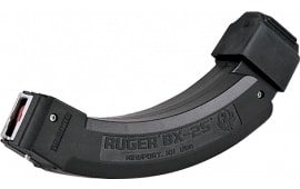 Ruger 90398 10/22 22 Long Rifle (LR) 50 rd BX-25x2 Polymer Black Finish