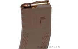 Troy SMAGSIN00TT AR-15 223 Remington/5.56 NATO 30 rd Coyote Tan Finish