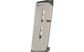 Wilson Combat 47OXC 1911 45 ACP 7 rd 1911 Compact Low-Profile Base Pad Stainless Steel Finish
