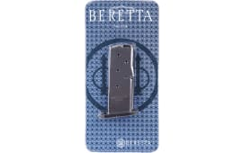 Beretta JM6NANO9 Mag 9mm Nano 6rd Stainless Finish