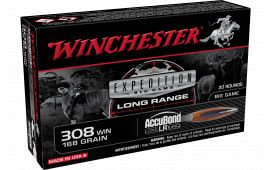Winchester Ammo S308LR 308 168ABLR - 20rd Box