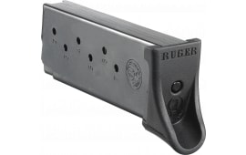 Ruger 90363 LC9 9mm Luger 7rd Steel Blued Finish with Extension