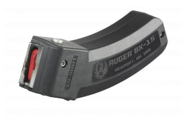 Ruger 90463 BX-15 22 Long Rifle (LR) 15rd 10/22, SR-22,77/22 BX-15 Polymer Black Finish