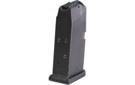 Glock MF39006 G39 45 GAP 6rd Polymer Black Finish