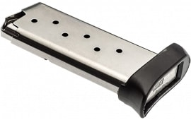 Sig Sauer MAG93897 Magazine P938 9mm 7rd Extended Stainless Steel