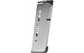 Wilson Combat 500CHD 1911 45 ACP +P 8rd Stainless Steel Finish Low-Profile Steel Base Pad