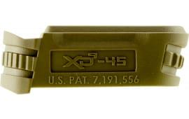 Springfield Armory XDS5001MFDE XD-S 45 ACP Mag Sleeve Flat Dark Earth Finish