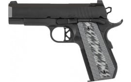 Dan Wesson 01884 ECP Black AL Frame 4IN Bobtail