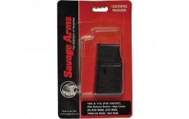 Savage 90007 MKII 22 LR/17 HM2 5 rd Silver Finish