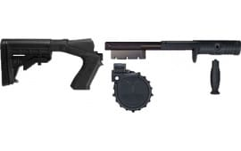 "Adaptive Tactical 03000 Venom Rotary Conv Kit w/M4 Stock 12 GA 2.75"" 10rd Moss500/8"