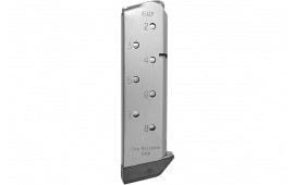 Chip McCormick Custom 14111 Match Grade 45 ACP 8rd 1911 Stainless Steel Silver Body/Black Base Finish