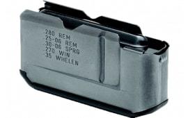 Remington 19638 Rem 7400/750 Short Action 3 rd Black Finish