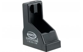 Eagle Import ST2 Oversized 9mm/45 Mags For Glock & Para Speedloader Black Finish