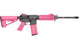 "Rock River Arms AR1420P LAR-15 NSP CAR Pink Semi-Auto 16"" 30+1 RRA Operator CAR Stock Black"
