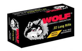 Wolf 22XTRA 22LR MTCH Extra 40 SOL RN - 50rd Box
