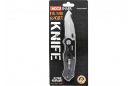 FPI 703C Accusharp Folding Sport Knife Black