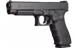 "Glock UG4130103 G41 Double 5.3"" 13+1 Black Grip Black"
