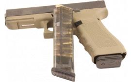 ETS Group GLK-17-10 Glock 17 9mm 10rd G17/18/19/26/34 (Gen 1-4) Polymer Clear Finish
