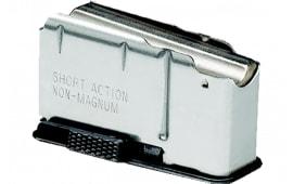 Remington 19645 700 Short Action 3rd Black Finish