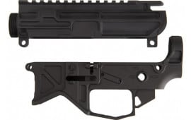 Battle Arms BAD556-LW-SET Arms AR15 Lightweight LOWER/UPPER Receiver SET Black