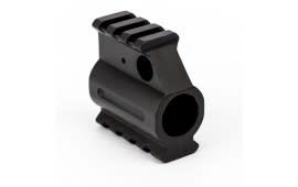 "AR-15 Dual Picatinny Rail Gas Block .750"" - W/ Set Screws and Wrench - Aluminum - Black"