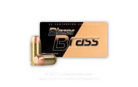 CCI Blazer Brass 40 S&W 180gr FMJ Ammo, 5220 - 50rd Box