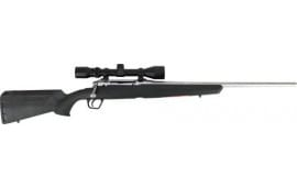 """Savage Arms 57287 Axis XP S/S .22-250 22"""" 3-9x40 SS/BLACK Synthetic Ergo Stock"""
