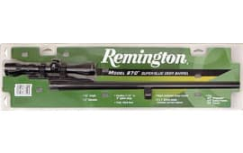 "Remington Barrels 27595 870 20 GA 18.5"" Blued Cantilever with Scope"