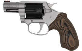"Colt Defense COBRA-TT2FO Cobra .38 SPL+P FS 2.1"" TWO Tone Fixed Brown Grips"