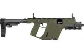 """Kriss KV90PSBGR20 Vector SDP Pistol G2 Brace 5.5"""" TB 17rd ODG"""