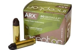 Inceptor 50BEOARXBR20 Preferred Hunting 50 Beowulf 200 GR ARX - 20rd Box