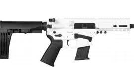 """CMMG 57A18CDSW Banshee Pistol 5"""" 20rd Snow White M-Lok Brace"""