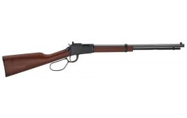"Henry H001TRP Small Game Rifle 22 S/L/LR Lever 22 LR 20"" 16+1 Walnut Stock Blued"