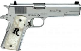 "Remington Arms Firearms 96304 1911 R1 SAO 5"" High Polish SS"