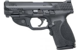 Smith & Wesson 12415 M&P9 M2.0 Compact FS13rdw/GREEN Laser Poly