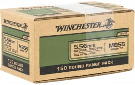 Winchester Ammo USA855LW1 USA 223 62 FMJ VP - 150rd Box