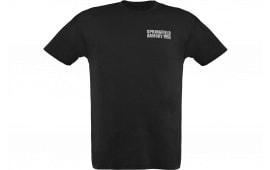 Springfield GEP1670L Mens Distressed DYL Tshirt Black LG