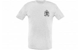 Springfield GEP1674L Mens Distressed Logo Tshirt Gray LG