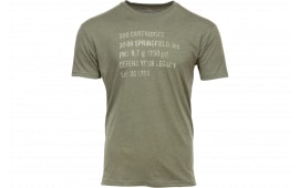 Springfield GEP4407M Mens Ammo CAN Tshirt ODG MD