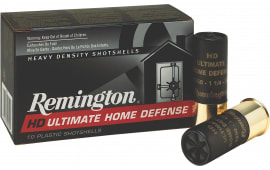 "Remington 410B000HD HD Ultimate Home Defense 410GA 2.5"" 4 Pellets 000 Bkshot - 15rd Box"