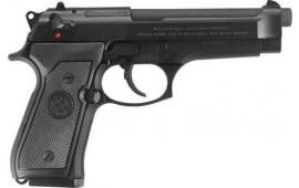 "Beretta JS92F390 92FS 4.9"" FS 3-DOT10rdBLUED/GRAY Italy"