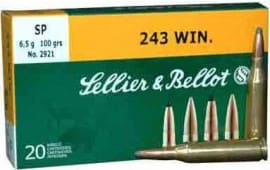 Sellier & Bellot SB243A 243 WIN 100 SP - 20rd Box