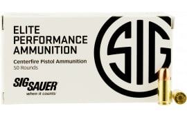 Sig Sauer E9MMA2-50 V-Crown 9mm 124 GR Jacketed Hollow Point - 50rd Box