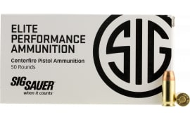 Sig Sauer E45AP150 V-Crown 45 ACP 200 GR Jacketed Hollow Point - 50rd Box