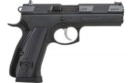 """CZ 01401 CZ 97 B *CA Compliant* DA/SA 4.8"""" 10+1 Aluminum Grip Black"""
