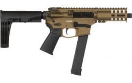 "CMMG 99A178DBB Banshee Pistol 5"" 33rd Burnt Bronze M-Lok Brace"